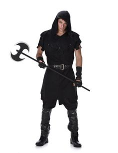 Results 541 - 599 of Our brand new adult Halloween costumes for 2020 include standard and plus sizes. Get the latest sexy and unique costumes for 2020 right here! Unique Couple Halloween Costumes, Creepy Costumes, Adult Costumes, Renaissance Boots, Renaissance Fair, Black Hood, Black Costume, Costume Collection, Black Gloves
