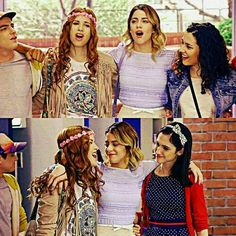 Maxi,Camila,Violetta,Naty y Francesca.