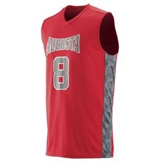f0a78489c Augusta Fast Break Game Jersey Custom Basketball