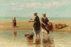 Jozef Israëls (1824-1911). Kom maar met het bootje spelen