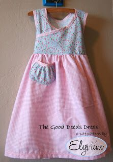 Free Pattern size 12M - 14T - Night Owl's Menagerie: The Good Deeds Dress - A Gift To You To Give