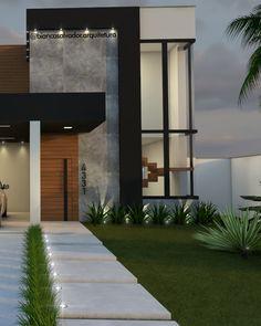 House Front Design, Design Your Dream House, Small House Design, Bungalow House Design, Modern Entrance, House Entrance, Home Building Design, Building A House, Minimal House Design