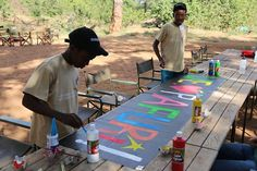 Peace and Destiny showing their artistic talents Picnic Blanket, Outdoor Blanket, Destiny, Wilderness, Safari, Tours, Camping, Peace, Album