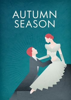 Autumn 2011 Illustrated Poster by Eve McConnachie, via Behance