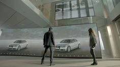 Audi has launched their 4th Audi City flagship store, this time in Berlin.