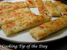 Cooking Tip of the Day: Easy Cheesy Garlic Breadsticks