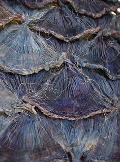 "exercicedestyle: ""by Ursula Gerber Senger. Textile Texture, Textile Fiber Art, Textile Artists, Shibori, Ursula, Art Grunge, Creative Textiles, Textiles Techniques, Art Brut"