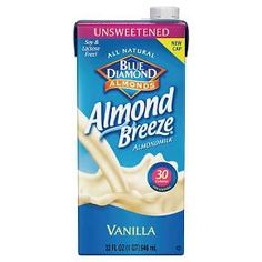 If you're looking for an alternative to cow's milk, reach for Almond Breeze® Unsweetened Vanilla Almond Milk from Blue Diamond®. You'll love the slightly nutty flavor and the vanilla adds just a hint of sweetness. Add to your breakfast cereal or hot oatmeal to mix up your morning routine.