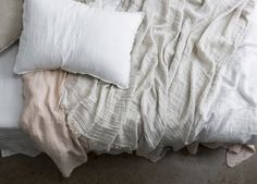Crush Linen Throw - Est Living Free Digital Design Magazine