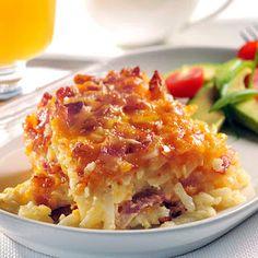 Breakfast Potato Bacon Casserole