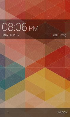 "I just discover this Amazing android Homescreen ""SGS2 Minimalism"" on MyColorscreen.com"