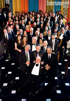 Up front is Rickles, flanked by Robert De Niro, Robin Williams, and Jon Stewart. Others in the star-studded crowd included Maya Rudolph, Chevy Chase, Will Arnett, Conan O'Brien's Andy Richter, Rob Riggle, Bridesmaids director Paul Feig, Amy Poehler, Daily Show correspondents John Oliver and Wyatt Cenac, Louis C.K., Bridesmaids costar Wendi-McLendon-Covey, Key & Peele's Keegan-Michael Key and Jordan Peele, Joel McHale, Adam Scott, Ty Burrell, and Jimmy Fallon's Late Night band the Roots plus…