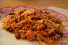 Chili au I-companion I Companion, Pork, Rice, Meat, Chicken, Baking, Ethnic Recipes, Desserts, Chili Con Carne