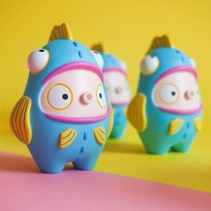 Dolly Oblong ToyCon UK 2018 Releases Dolly Oblong is one booth we have our eyes on every year at ToyCon UK. Actually, scrap that, we mean to keep our eyes out all year round. This year more cuteness from the Dolly Oblong Zbrush, Tinker Toys, Niklas, Pop Toys, Mascot Design, Toy Art, Vinyl Toys, Designer Toys, 3d Character