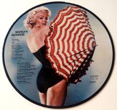 Marilyn Monroe Picture Disc LP Vinyl Record Album by ThisVinylLife