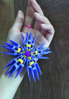 3d origami small minion tutorial step by step this is a video about 3d origami origami flowers flower ornament paper flowers flower decor christmas tree decor mightylinksfo