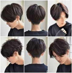 Pixie Bob The Effective Pictures We Offer You About erika Tomboy Hairstyles, Pixie Bob Hairstyles, Pixie Haircut, Hairstyles Men, Haircut Men, Haircut Short, Zoella Hairstyles, Asian Haircut, Frontal Hairstyles