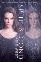 Split Second by Kasie West (sequel to Pivot Point): Seventeen-year-old Addie struggles to retrieve her lost memories and makes a startling discovery that challenges everything she's ever known about herself, her family, and her world.