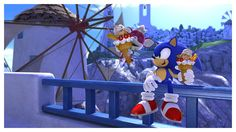 Sonic and Chip_Best Friends by on DeviantArt Shadow And Amy, Sonic And Shadow, Hedgehog Art, Sonic The Hedgehog, Sonic Unleashed, Game Sonic, Im Blue, Sonic Heroes, Eating Ice Cream