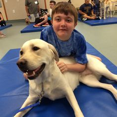 Meet Oprah The Third!  Anthony finally has his dog to help him with his disability and keep him company ~ August 2015