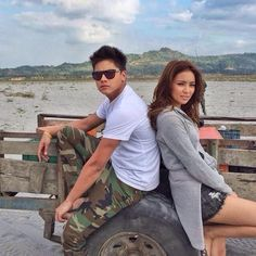 King and Queen of Hearts Silly Photos, Bff Pictures, Cute Photos, Bff Pics, Daniel Padilla, Kathryn Bernardo, Jadine, Relationship Goals Pictures, Queen Of Hearts