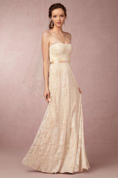 Zahara Gown from @BHLDN