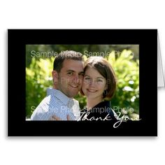 Shop Personalized Photo Wedding Thank You PostCards created by specialoccasions. Photo Thank You Cards, Thank You Note Cards, Custom Thank You Cards, Wedding Thank You Postcards, Wedding Postcard, Wedding Cards, Thank You Card Template, Pink Wedding Invitations, Postcard Size