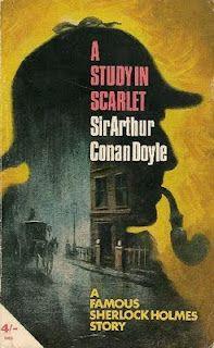 A Study in Scarlet by Sir Arthur Conan Doyle (Classic) Detective Sherlock Holmes, Sherlock Holmes Stories, Sir Arthur, Arthur Conan Doyle, A Study In Scarlet, Long Books, Crime Fiction, Fiction Novels, Pulp Fiction