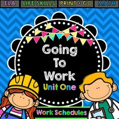 | Life Skills Reading | Writing | Work Schedules | Unit 1 | Special Education |The goal for many of my students is to be able to get a job one day. In order for them to be successful, it is important that they acquire some soft skills along the way. Learning how to read work schedules is exactly one of those types of skills!With this purchase, your students will have a chance to practice reading simple work schedules so they get familiar with days, times, and learning how to look for…