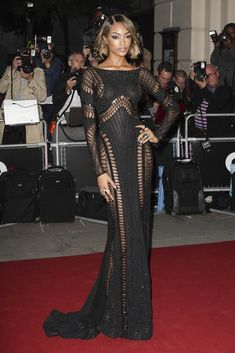 1. Jourdan Dunn At The 2014 GQ Men Of The Year Awards | The Most Fab And Drab Celebrity Outfits Of The Week