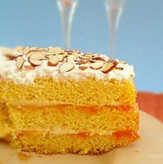 """Eggnog Cake Recipe 