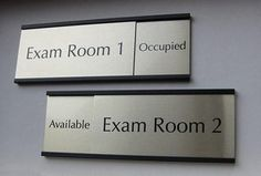 Office Signage and Plaque Engraving