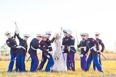 Ideas for wedding pictures military marine corps Marine Wedding Colors, Marine Corps Wedding, Military Love, Army Love, Military Humor, Wedding Types, Wedding Goals, Wedding Ideas, Baby Wedding
