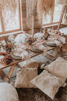 A dreamy bohemian wedding shoot with beach inspired decor elements, bridal crowns, dried flower crowns and stunning lace wedding dresses. Elope Wedding, Wedding Shoot, Wedding Table, Elopement Wedding, Wedding Bride, Wedding Dresses, Wedding Posing, Sequin Wedding, 1920s Wedding