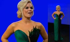 Everything Peacock | Peacock dress Kimberly Caldwell wore as the hosted the season 1 finale of Best Ink (Oxygen)