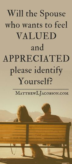 Every relationship goes through some dry times - when one or both partners feel as if they are being taken for granted. How do you get appreciation and gratitude back into marriage?