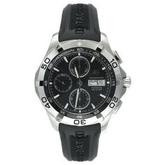 Tag Aquaracer Chronograph I own this watch and love it. Perfect for all styles and occasions. Tag Heuer Aquaracer Automatic, Tag Heuer Aquaracer Chronograph, Swiss Luxury Watches, Cool Things To Buy, Stuff To Buy, Sport Watches, Casio Watch, Tags, Accessories