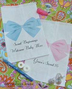 e55538202f3 Personalized Candy Bags, Wedding Favors Bags, Sweet 16, Baby Shower Candy  Bags,