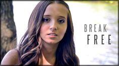 Break Free - Ariana Grande - feat. Zedd (Official Music Video Cover by A...