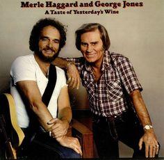 Merle Haggard an George Jones