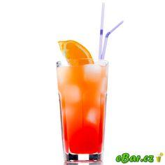 Tequila Sunrise Tequila Sunrise, Mixed Drinks, Hurricane Glass, Pint Glass, Cocktails, Orange, Tableware, Health, Salud