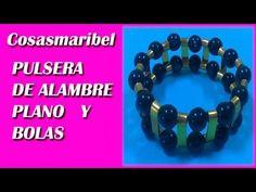 sandylandya@outlook.es  Pulsera de alambre plano.Wire bracelet