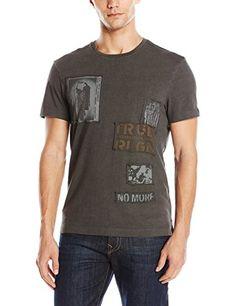 True Religion Men's Punk Patches T-Shirt