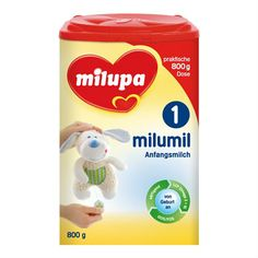 Milupa Baby milk powder , made in Germany Milk Packaging, Packaging Design, Baby Health, Powdered Milk, Infant Formula, Germany, How To Make, Culture, Display