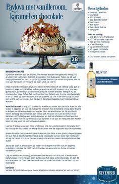Pavlova met vanilleroom karamel en chocolade - Lidl Nederland