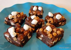 Recipe: Chocolate Peanut Butter Marshmallow Squares | the disney food blog