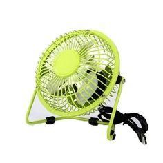 Mini Fan,Portable Fan, USB Fan, Desktop Fan,Small Fan(Green)
