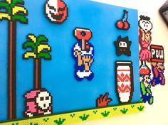 * ELKE bestelling wordt geleverd met een gratis mysterie magneet! * Dit stuk beschikt over een scène uit Super Mario Bros 2 en wordt geleverd met alle vier tekens die u kunt omwisselen. Kies een ander teken weergegeven wanneer u maar wilt - net als het eigenlijke spel! Deze
