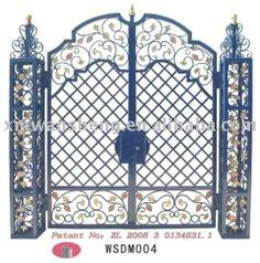 Promotional Galvanized Steel Gate Design, Buy Galvanized Steel ...