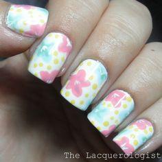 The Lacquerologist: The Digit-al Dozen Does Floral #1 featuring Jordana Playful Pastels!